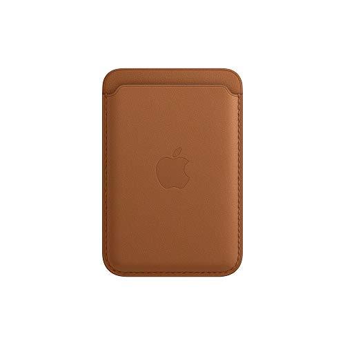 Apple Leder Wallet mit MagSafe (für iPhone) - Sattelbraun