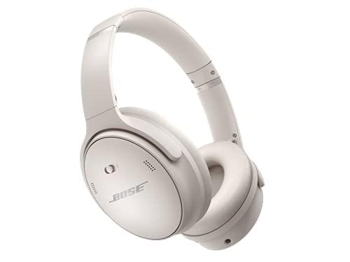 Bose QuietComfort 45 kabellose Noise-Cancelling-Bluetooth-Kopfhörer, Mikro, Weiß