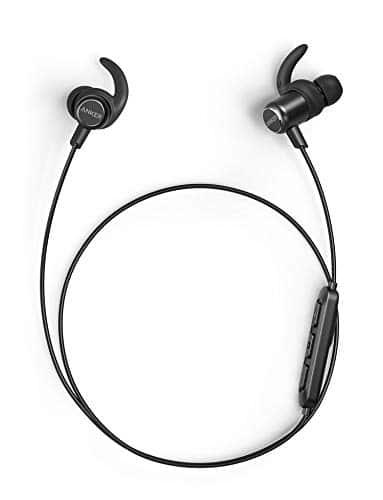 Anker SoundBuds Slim+ Bluetooth Kopfhörer, Upgraded Leichte Stereo Kopfhörer In Ear mit High Resolution HD Sound, Bluetooth 5.0, IPX7 Wasserfeste Sportkopfhörer mit Metallgehäuse und Mikrofon
