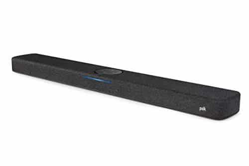 Polk Audio React Heimkino Soundbar mit Alexa Built-in, Amazon Multiroom Music, DTS, Dolby Digital, WLAN, Bluetooth, HDMI ARC, optischer Eingang