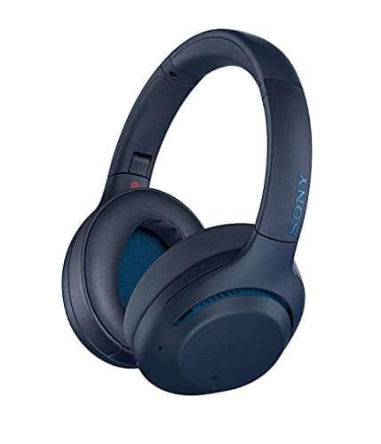 Sony WH-XB900N Bluetooth Noise Cancelling Kopfhörer (Extra Bass,30h Akku, Amazon Alexa & Google Assistant, Gestensteuerung) Blau