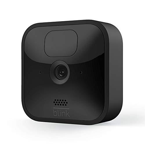 Blink Outdoor – kabellose, witterungsbeständige HD-Sicherheitskamera mit zwei Jahren Batterielaufzeit und Bewegungserfassung | Zusatzkamera für bestehende Blink-System-Kunden