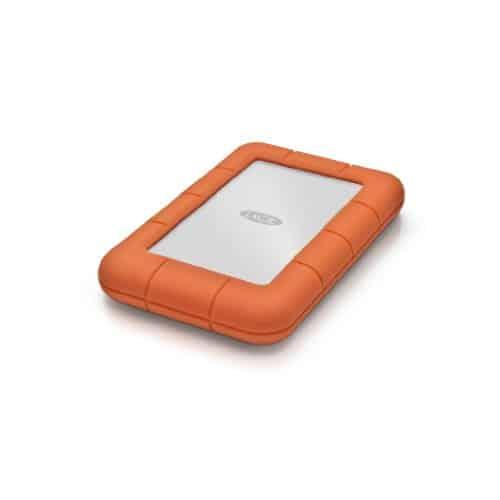 LaCie Rugged Mini, 1 TB, tragbare externe Festplatte für Mac, 2.5 Zoll, USB 3.0, Mac, PC