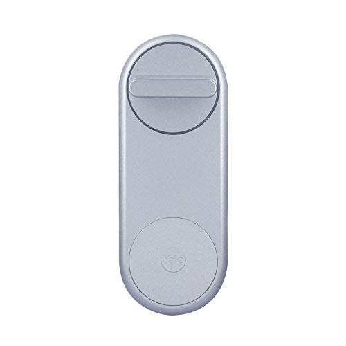 Yale 05/101200/SI Linus Smart Lock 05/101200/SI-Linus Silber-Schlüsselloses und sicheres Türschloss
