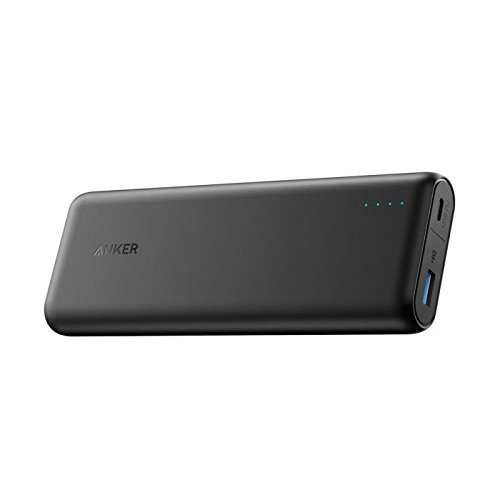 Anker PowerCore Speed 20100mAh Powerbank mit Power Delivery, 20000 PD Externer Akku extrem hohe Kapazität iPhone 8 / X, USB Typ C MacBooks und weitere
