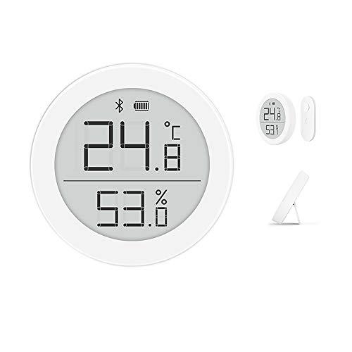 Cleargrass Hochpräziser Bluetooth-Temperatur- und Feuchtigkeitsdetektor H-Version, Babyraummonitor mit 1-Jahres-Knopfbatterie, Unterstützung der Homekit-Smart-Gerätesteuerung (1)