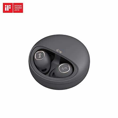 AUKEYBluetooth5 Kopfhörer in Ear, 24 Std. SpielzeitmitLadecase, USB-CundQidrahtloseAufladung, IPX5Wasserdicht, Touch Bedienung, hervorragenderSound, kabellose Ohrhörer KeySeriesT10