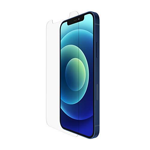 Belkin iPhone 12 mini Displayschutz TemperedGlass antimikrobiell mit Sichtschutz (reduziert Bakterien um bis zu 99 %)
