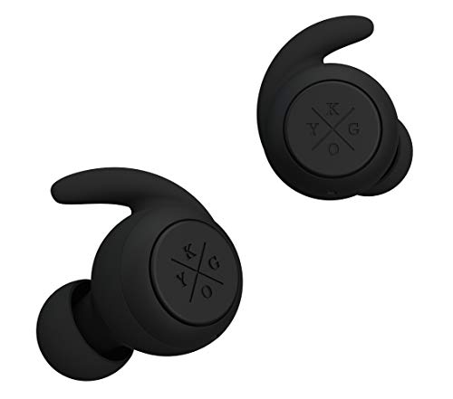 Kygo E7/900 True Wireless In-Ear Kopfhörer (wasserfester Bluetooth Ohrhörer mit Multifunktionsbedientaste & Mikrofon, 3.5 Stunden Akkulaufzeit) Schwarz