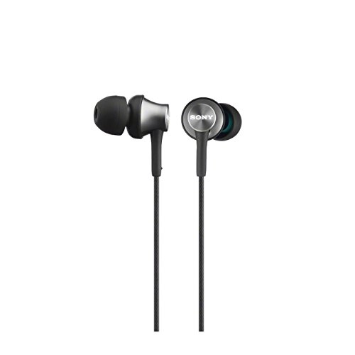 Sony MDR-EX450H geschlossene In-Ear-Kopfhörer grau