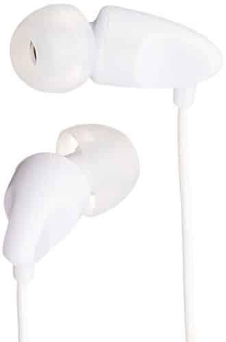 AmazonBasics In-Ear-Kopfhörer, Weiß