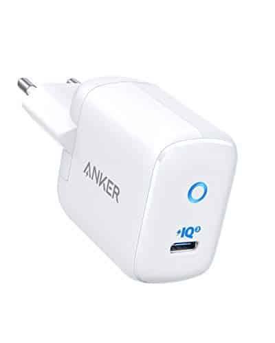 Anker USB C Ladegerät PowerPort III Mini 30W Power IQ 3.0 kompaktes Power Delivery Typ-C Ladegerät für iphone 11/11 Pro/11 Pro max/XR/XS/X/8, iPad Pro, MacBook, Galaxy S10/9,Pixel,Mate 20 Pro usw