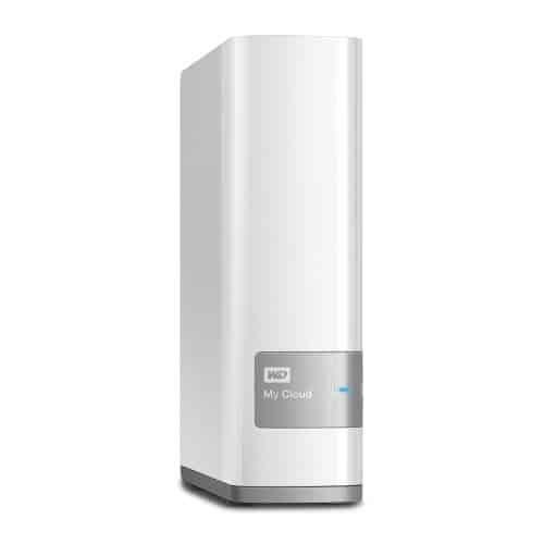 Western Digital 6TB My Cloud persönliche Cloud NAS Festplatte - LAN - WDBCTL0060HWT-EESN
