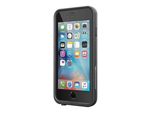 LifeProof Fré wasserdichte Schutzhülle für Apple iPhone 6 plus / 6s plus, Schwarz