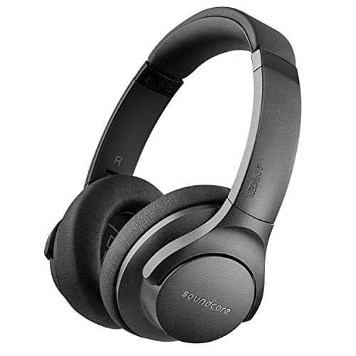 Soundcore Life 2 Bluetooth Kopfhörer, Kabellos Over Ear Active Noise Cancelling Kopfhörer mit 30 Stunden ANC Spielzeit, Hi-Res Audio Qualität und Mikrofon mit CVC Geräuschisolierung [Bis zu 60 Std]