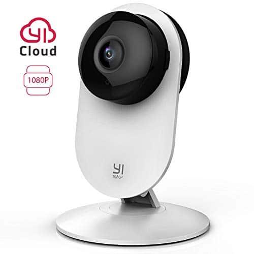 YI Home Camera 1080p IP Überwachungskamera, Smart Home Kamera mit Nachtsicht, Bewegungsmelder, 2-Way Audio, Haus Monitor Pet Monitor, App für Smartphone, YI Cloud Service