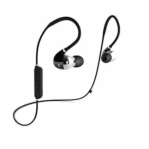 DOCKIN D MOVE Bluetooth 4.1 flexibler In-Ear-Kopfhörer und Sport Headset, Individuell Anpassbar, IPX4 Schweißresistent