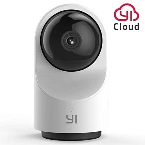 YI Kamera Wi-Fi Innenbereich 1080p Dome X,Überwachungskamera Ip Camera WiFi Smart Kamera Sicherheit Full HD 360°Pan-tilt,Bewegungssensor, Time-Lapse,Auto On/Off, unterstützt Micro-SD-Karten