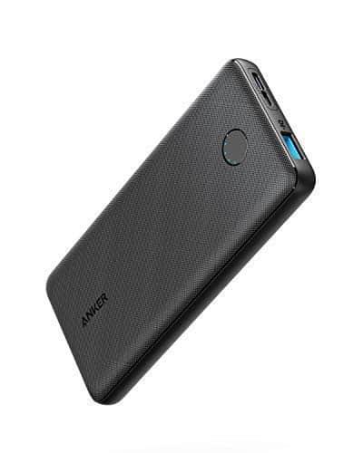 Anker PowerCore Slim 10000, extrem dünne Powerbank, kompakter 10000mAh externer Akku, High Speed PowerIQ und VoltageBoost Ladetechnologien, Powerbank für iPhone, Samsung Galaxy und mehr