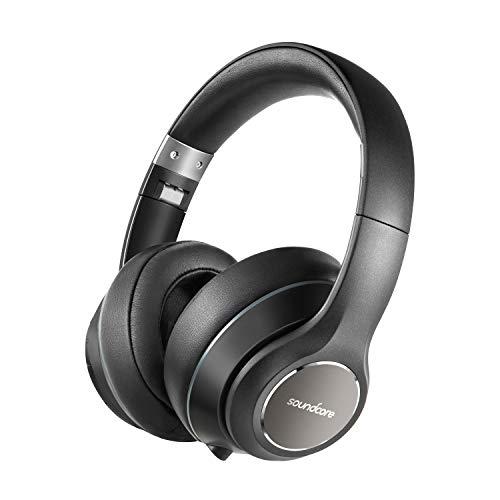 Soundcore Vortex Bluetooth Kopfhörer von Anker, Kabellose Over-Ear Kopfhörer, mit starker 20 Stunden Akkulaufzeit, Bluetooth 4.1 und erstklassigem Hi-Fi Stereo Sound