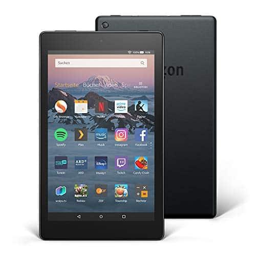 Fire HD 8-Tablet, 32 GB, Schwarz, mit Spezialangeboten (vorherige Generation – 8.)