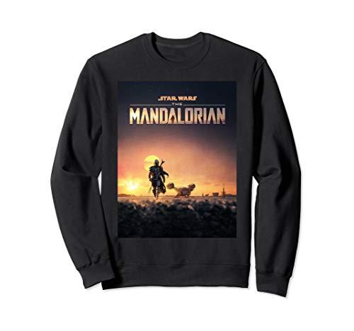 Star Wars The Mandalorian Disney+ Series Poster Sweatshirt