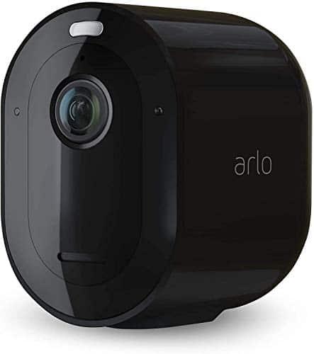 Arlo Pro3 WLAN Überwachungskamera & Alarmanlage, 2K UHD, Zusatzkamera, kabellos, Innen/Außen, Farbnachtsicht, 160 Grad Winkel, 2-Wege Audio, Spotlight, Bewegungsmelder, VMC4040B, SmartHub benötigt