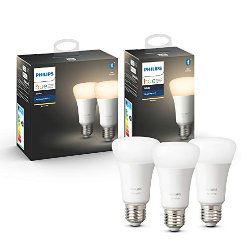 Hue White E27 3-er Pack 3x806lm Bluetooth