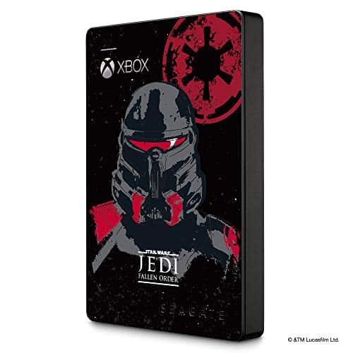 Seagate Game Drive für Xbox GamePass Edition JEDI, tragbare externe Festplatte, 2 TB, 2.5 Zoll, USB 3.0, Xbox, ModelNr.: STEA2000426
