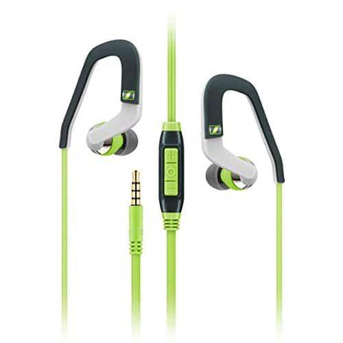 Sennheiser OCX 686i In-Ear-Sportkopfhörer mit Ohrbügel - Apple iOS, grün/schwarz