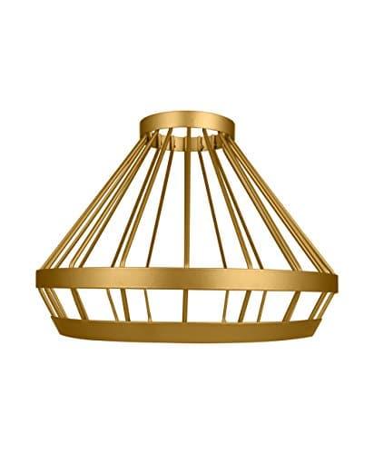 Osram Vintage Edition 1906 Lampenschirm Cage, gold, Zur Erweiterung Ihrer Osram Pendulum Leuchte, P20, Aluminiumgehäuse