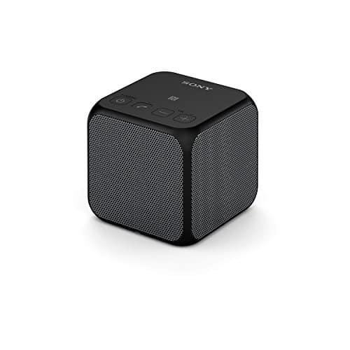 Sony SRS-X11 Bluetooth Lautsprecher, 10 Watt, tragbar und kabellos, NFC, Bluetooth, verkoppeln mit weiterer X11 für Stereosound, schwarz