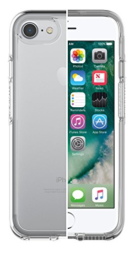 OtterBox Symmetry Clear hoch-transparente sturzsichere Schutzhülle für iPhone 7/8, transparent