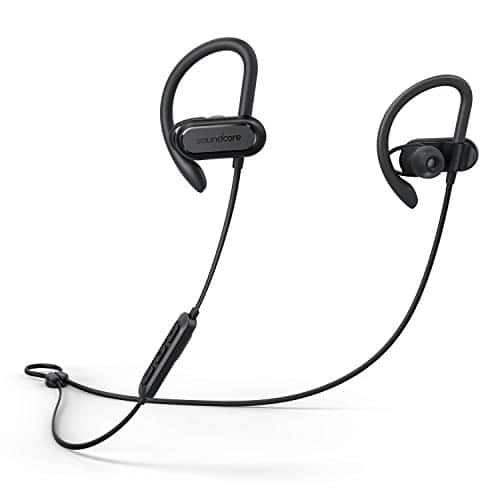 Soundcore Spirit X kabellose Kopfhörer für Sport, IP68 Wasserschutzklasse, SweatGuard Technologie, Starker Bass, 18 Stunden Akkulaufzeit, für Fitnessstudio, Joggen, Workout
