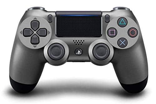 PlayStation 4 - DualShock 4 Wireless Controller, Steel Black (2018)