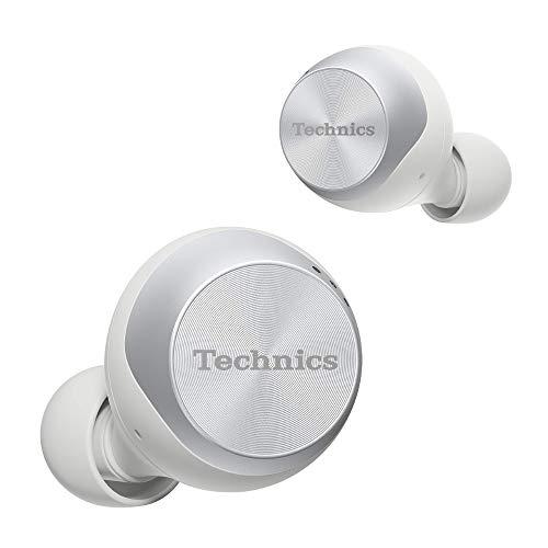 Technics EAH-AZ70WE-S True Wireless In-Ear Premium Class Kopfhörer (Noise Cancelling, Sprachsteuerung, kabellos) Silber