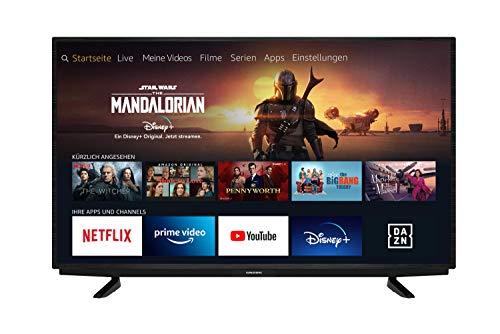 Grundig Vision 7 - Fire TV Edition (43 VAE 70) 109 cm (43 Zoll) Fernseher (Ultra HD, Alexa-Sprachsteuerung, HDR) [Modelljahr 2020]