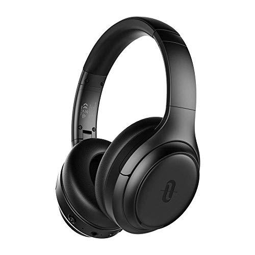 Noise Cancelling Kopfhörer TaoTronics Bluetooth 5.0 Kabellos Headphone Over Ear Headset ANC Tiefer Bass CVC 8.0 Geräuschunterdrückendes Mikrofon 30 Std. Spielzeit für Reisen Fahren Büro TV PC