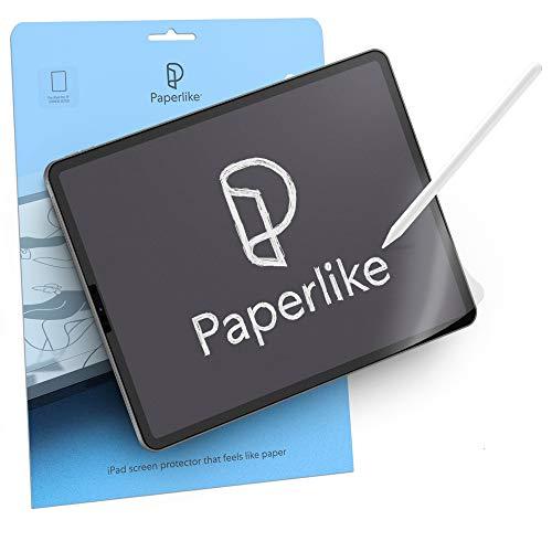 Paperlike (2 Stück) für iPad Air 10,9 Zoll (2020) & iPad Pro 11 Zoll (2018, 2020 und 2021) - matte Folie zum Zeichnen, Schreiben und Notizen machen