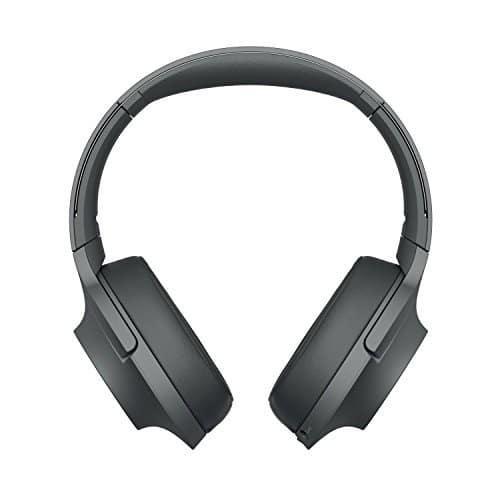 Sony WH-H900N Kabelloser High-Resolution Kopfhörer (Noise Cancelling, Bluetooth, NFC, bis zu 34 Stunden Akkulaufzeit) Schwarz