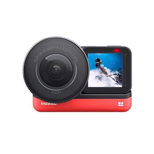Insta360 ONE X 360-Grad Action-Kamera, 5.7K Video 18MP-Fotos, mit Flowstate-Stabilisierung, WLAN-Übertragung in Echtzeit (Spezielle E-Commerce-Version mit Speicherkarte, 32 GB V30 MicroSDXC inklusive)