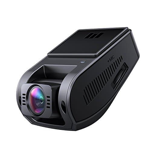 AUKEY Autokamera 4K 2880x2160P Dashcam 157 Grad Weitwinkelobjektiv mit Superkondensator, HDR Nachtsicht Kamera für Auto mit G-Sensor, Bewegungserkennung, Loop-Aufnahme und Dual-Port Kfz-Ladegerät