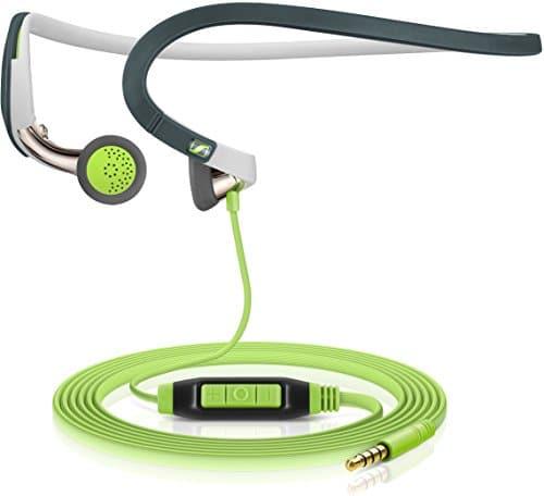Sennheiser PMX 686i Sports In-Ear-Sportkopfhörer mit Nackenbügel - Apple iOS, grün/schwarz
