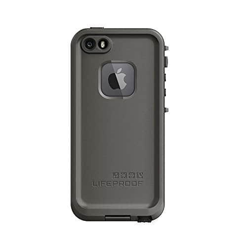LifeProof Fré wasserdichte Schutzhülle für Apple iPhone 5/5S/SE grau