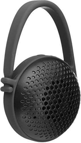 AmazonBasics Tragbarer Nano-Bluetooth-Lautsprecher, sehr klein, Schwarz