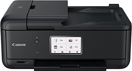 Canon Pixma TR8550 All-in-One Farbtintenstrahl-Multifunktionsgerät (Drucker, Scanner, Kopierer, Fax, USB, WLAN, LAN, Apple AirPrint) schwarz