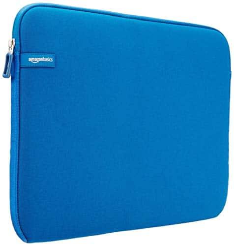 AmazonBasics Laptop-Schutzhülle,15 - 15,6 Zoll, Hellblau