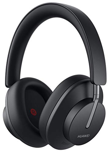 HUAWEI FreeBuds Studio, Kabellose Intelligent Dynamic Active Noise Cancellation Kopfhörer mit Bluetooth, Hochauflösende Musik und Schnellaufladung, Graphite Black + 5 EUR Amazon Gutschein