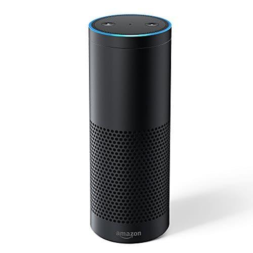 Echo Plus (Vorherige Generation - 1. Gen.), Zertifiziert und generalüberholt, - Mit integriertem Smart Home-Hub (Schwarz)