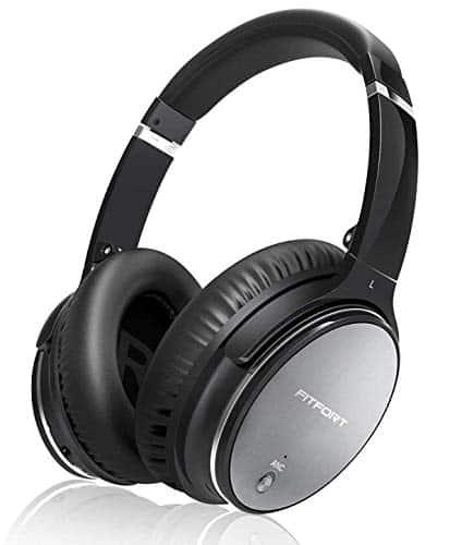 Noise Cancelling Kopfhörer Bluetooth 5.0 Wireless Headset Over Ear mit Duale 40 mm HD Tieftontöner für alle Geräte mit Type C Klinkenstecker & Schnellladen